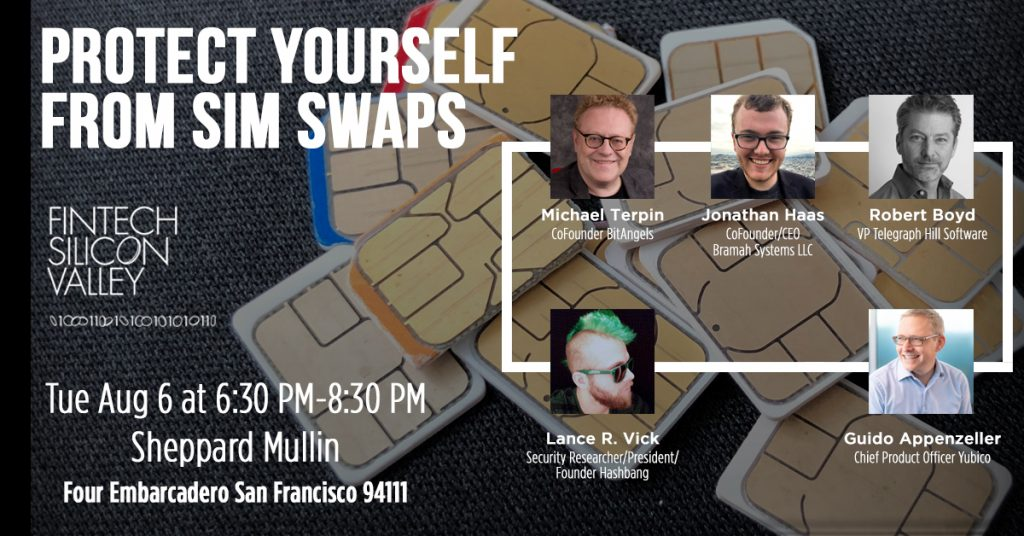 Protect Yourself from Sim Swaps panel
