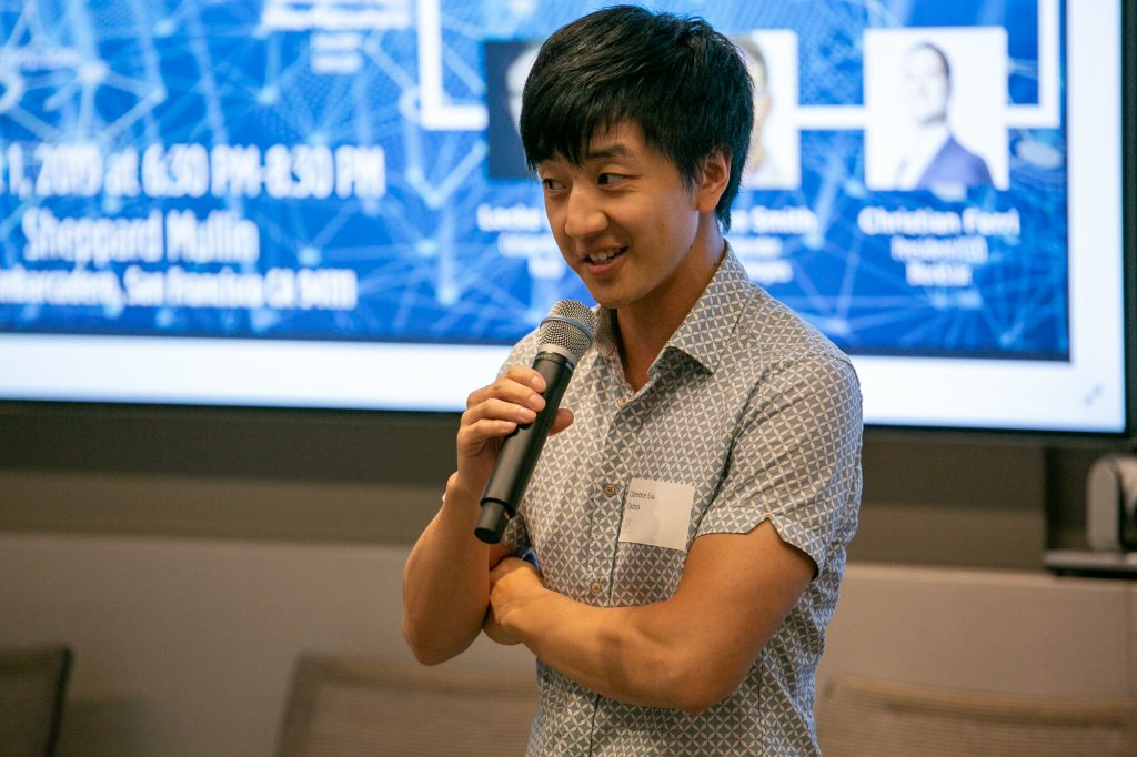 Clarence Liu VP Development elastos pitch @Scaling the Blockchain